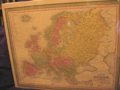 Image for Map of Europe.