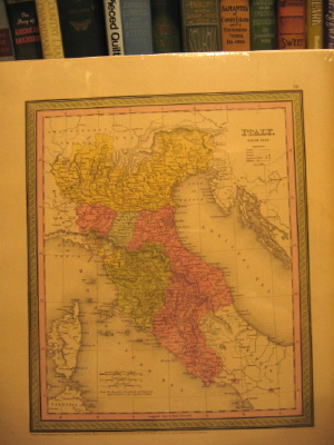 Image for Map of Italy, North Part.