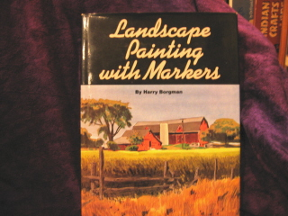 Image for Landscape Painting with Markers.