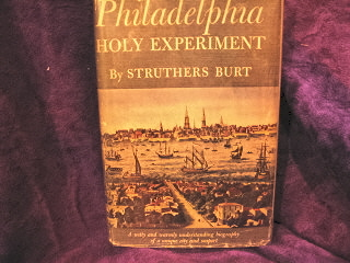 Image for Philadelphia.  Holy Experiment.
